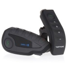 VNETPHONE V8-1-US Motorcycle Bluetooth Helmet Intercom Headset w/ Remote Control, NFC for 5 Riders