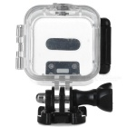 Protective Waterproof Camera Case w/ Holder for Gopro Hero4 Session - Black + Transparent