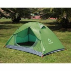 HALIN HT102 Outdoor Dual-Layer Foldable Collapsable Camping Tent for 2 Person - Army Green