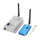 2.4G 1000mW 1W Wireless Monitoring AV / FPV Image Transmission Transmitter / Receiver Kit