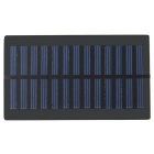 0.6W Laminated Solar Polysilicon Cell Panel Board - Black