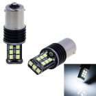 1156 4.5W Car Turn Signal Back-up Lights White 6000K 330lm 15-SMD 2835 (12V / 2 PCS)