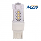 MZ T20 80W 4000lm Red Light 16-XT-E LED Car DRL / Brake Light / Constant Current (12~24V)