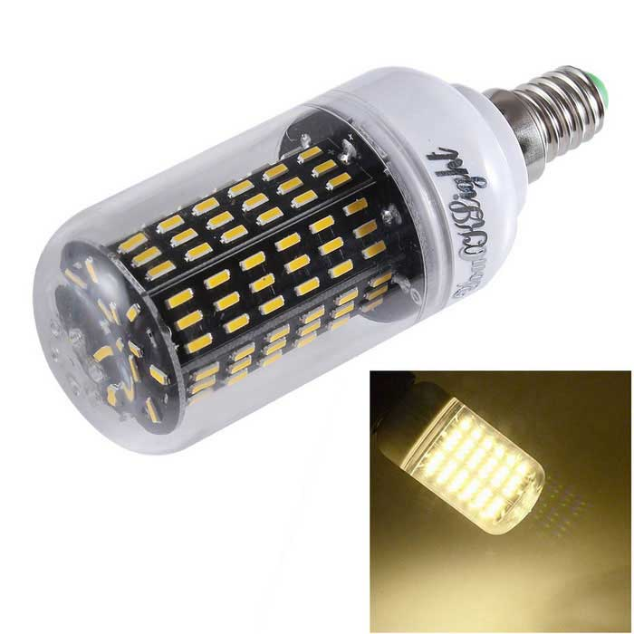 YouOKLight E14 15W LED Corn Bulb Lamp Warm White Light 138-SMD 1200lm