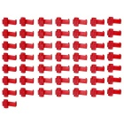 Quick Splice Wire Connectors / Wire Cable Clip Organizer - Red (50 PCS)