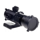 21mm Rails Aluminum Alloy 1X32 M3 Aimpoint Red Green Dot Sight Scope - Black (1 x CR2032)