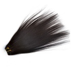 Unprocessed Virgin Straight Human Hair Natural Black Hair Extensions 10inch (30cm)