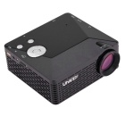 UHAPPY U18 HD Home Theater LED Mini Projector w/ SD, HDMI, VGA - Black