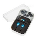 Mosidum MSD-M30 3.5mm In-Ear Earphones w/ Mic. / Clip - Blue