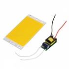 94 x 50mm Wired 26.2W 1500lm 3200K Warm White Light 48-COB LED Module w/ Power Supply Driver