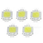JRLED 10W Coral Growth LED Light Emitter Boards Cool White 15000K 800lm (DC 10~11V / 5 PCS)