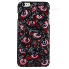 Eyeballs Pattern Protective Plastic Back Case for IPHONE 6 PLUS - Black + Red + Multicolor