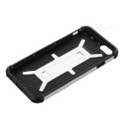 Protective PC + TPU Back Case for IPHONE 6 - Black + Silver