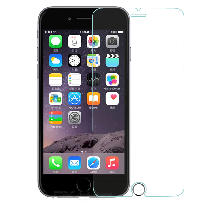 finesource glas film + contact ID-knop voor de iPhone 6 PLUS - transparant