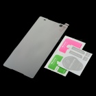 Clear Tempered Glass Screen Guard Protector for Sony C5 - Transparent