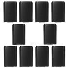 Game Controller AA Battery Holder Cases for XBOX 360 - Black (10 PCS)
