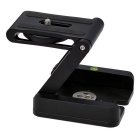 Z Shape Foldable Stand Holder for Camera - Black