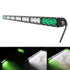 210W 21-LED 17850lm 6000K LED Worklight Bar Green + White Combo Light Offroad 4WD SUV Driving Lamp