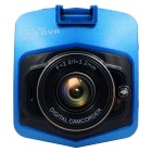 "Car DVR L2 Full HD Camera Vehicle Blackbox DVR  Dash Camera w/ 2.4"" LCD / 8GB TF - Blue + Black"
