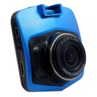 "L2 Car Blackbox DVR Dash Camera w/ 2.4"" LCD / 8GB TF - Blue + Black"