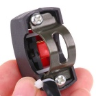 Motorcycle DIY Accessory Handle Bar Mount Switch - Black + Red