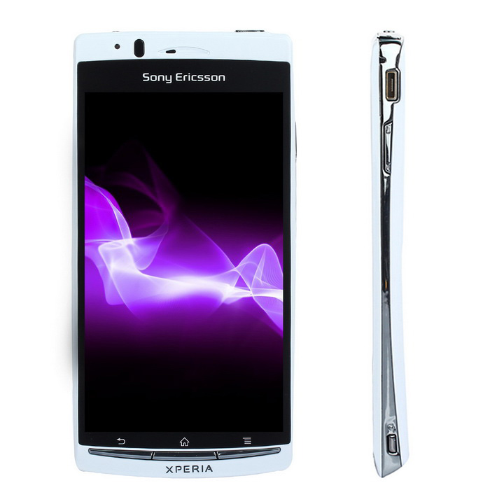 "Sony Xperia LT18i Single Core Android 2.3 Smartphone w/ 4.2"" Screen, 8.0MP, 1GB ROM - White"
