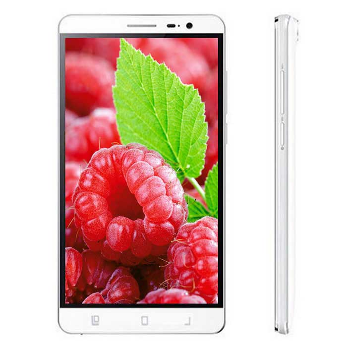 VKWORLD VK6050S Android 5.1 Quad-Core 4G Phone w/5.5 IPS, GPS, 13.0MP+5.0MP, 16GB ROM, Wi-Fi - White(SKU 405039)