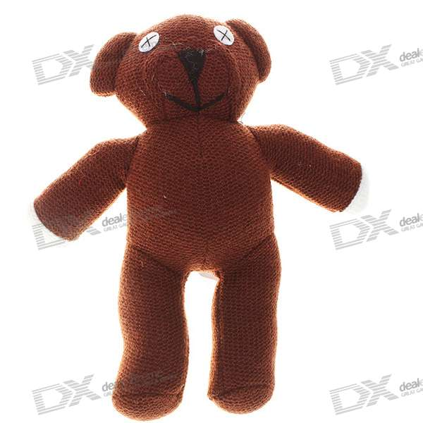 Cute Mr. Bean Teddy Bear Plush Doll new plush teddy bear toy cute blue heart and bow bear doll gift about 100cm