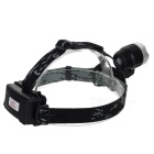 Outdoor 12W 1000lm 3-Mode Cold White Headlamp / Bike Light - Black