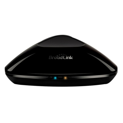 Broadlink RM-Pro+ Smart Wi-Fi IR / RF Remote Controller for iOS,Android - Black (EU Plug)