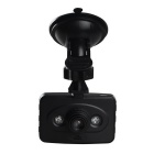 "2.4"" LCD TFT 1080P Wide Angle Digital HD Car DVR camera w/ 2-LED IR Night Vision / TF / USB - Black"