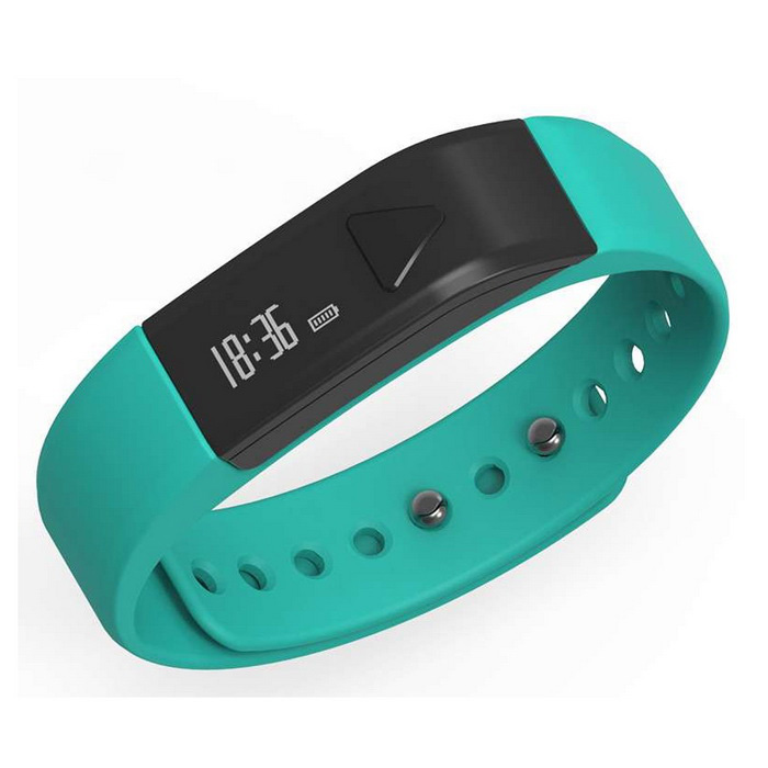 Iwown i5 inteligente Pulseira BT Bracelet w / Caller ID Display - Azul