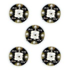 Mini destellos del RGB LED de WS2812 - negro (5PCS)