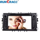 "Rungrace Android 7"" 2-Din Car DVD Player w/ BT, GPS, IPOD, Wi-Fi, ISDB-T, CAN BUS for Ford Mondeo"