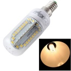 Luz do diodo emissor de luz do bulbo do milho do youoklight E14 9W luz branca morna 3000K 880lm 84-SMD 2835 (ac 85 ~ 265V)