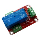 1-Channel 12V Low Level Dual Power Relay Module - Red + Blue