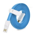 Xiaomi Micro USB Male to USB 2.0 Male Data Sync / Charging Cable for Xiaomi - Blue (120cm)