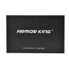 ARMOR KING Metal Case + Tempered Glass Film for IPHONE 5 / 5S - Silver