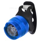 LED 3-Mode Blue Light Bike Helmet / Taillight Lamp - Blue + Red