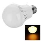 E27 7W LED Bulb Lamp Warm White 400lm 3000K 22-2835 SMD - White (220V)