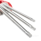 7-in-1 Hex Screw Bit Tool Set - Red + Silver