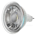 JRLED MR16 5W Cold White COB LED Spotlight - Transparent + Yellow