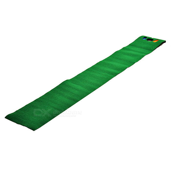 TOURLOGIC Golf Practicing Large Putting Mat - Green (270*40cm)