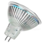 MR16 5W focos COB LED blanco cálido 3000K 350lm - plata (12V / 3PCS)