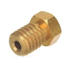 0.4mm M6 1.75mm Filament Brass 3D Printer Nozzle - Golden