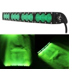 120W 12-LED 10200lm Curved LED Flood Green Light SUV Off-road Driving Lamp / Worklight Bar (DC9~60V)