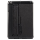 Toothpick Grain Protective Case w/ Stand for IPAD MINI - Black
