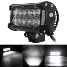 36W 12-LED 3060lm 6000K Flood Work Light Bar Offroad SUV ATV Lamp