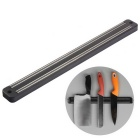Wall Mounted Magnetic Knife Holder Kitchen Tool - Black