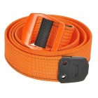 EDCGEAR Lightweight Waist Belt w/ Aluminum Alloy Buckle - Orange (XL)